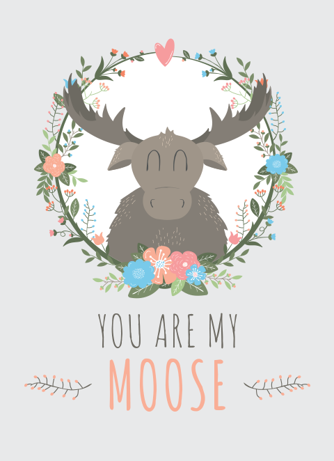 Moose and Panda - You Are My Moose